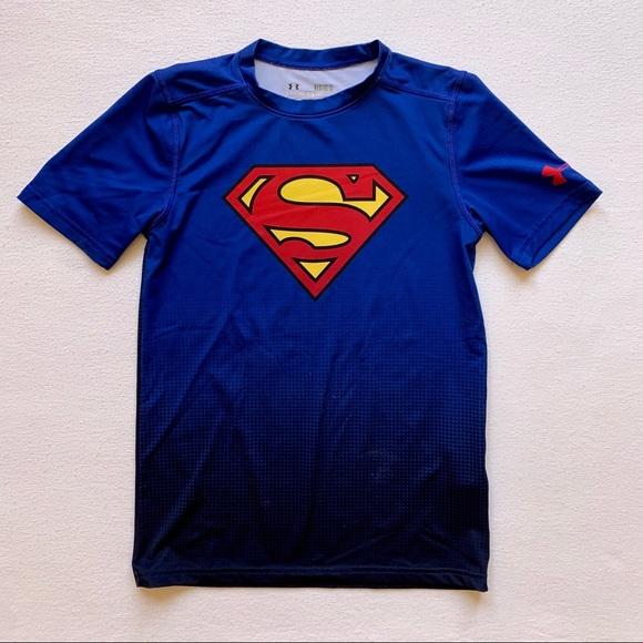 Under Armour Other - Under Armour Boys Superman Tee